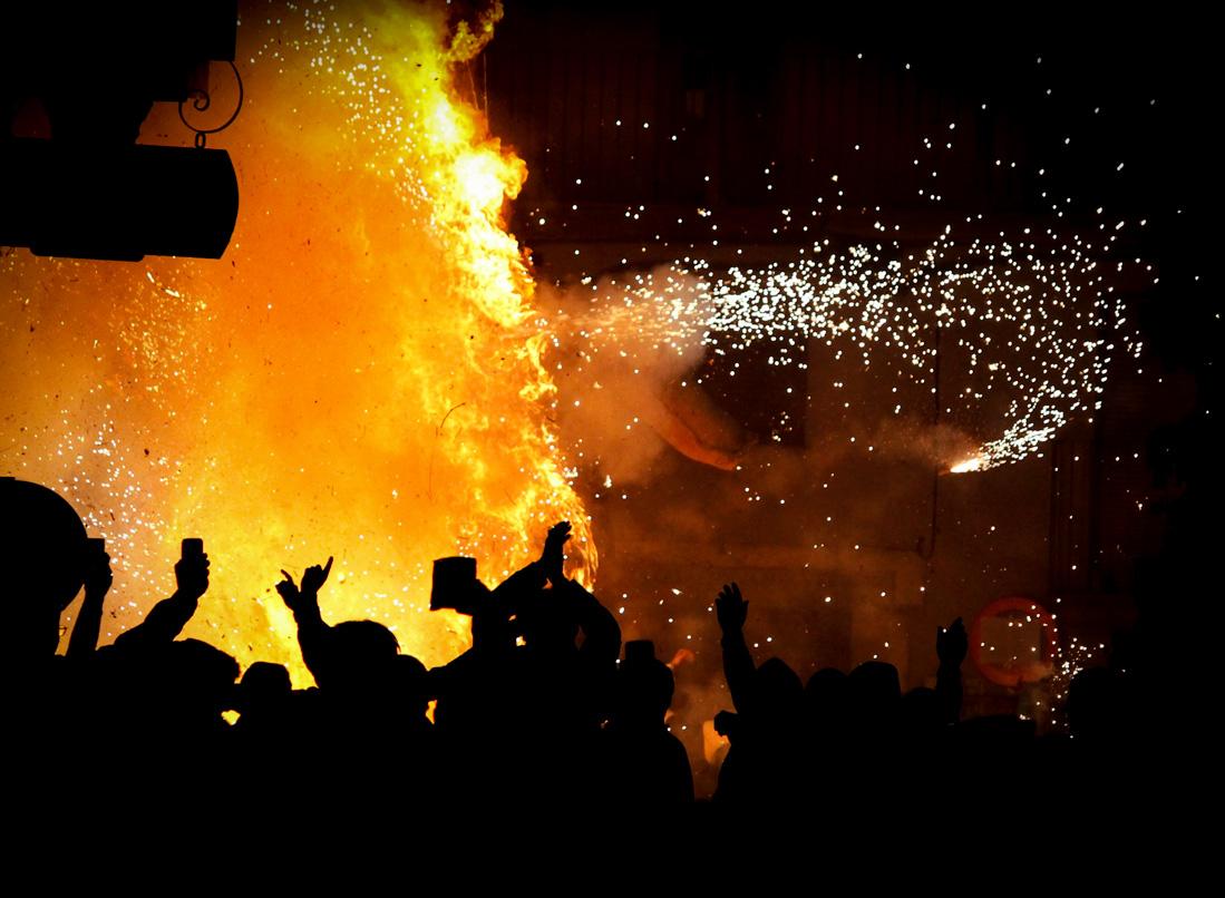 Fiestas Tradicionales en Garganta la Olla